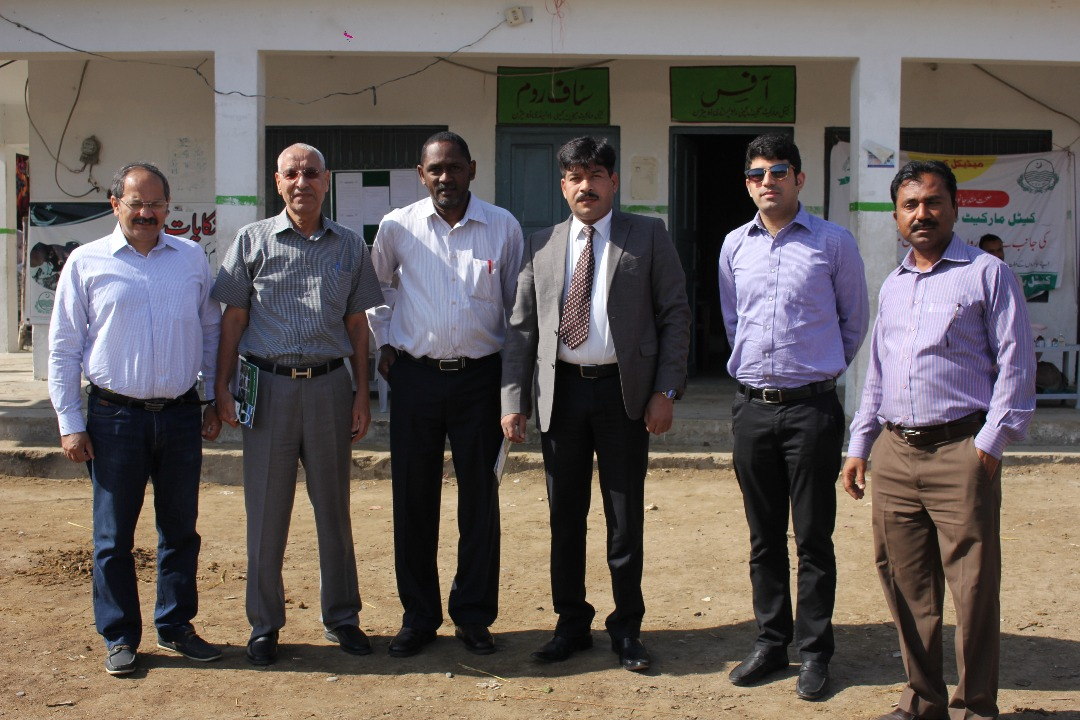 Delegated visit of Bahraini Team to Cattle Markets of Rawalpindi Division