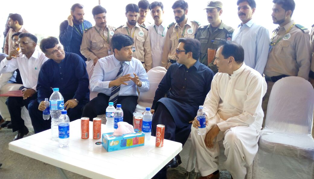 Advisor to Chief Minister's Visit to CMMCRD